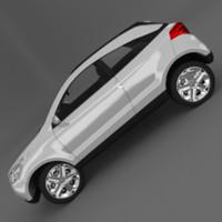 chevrolet agile gpix 3d model