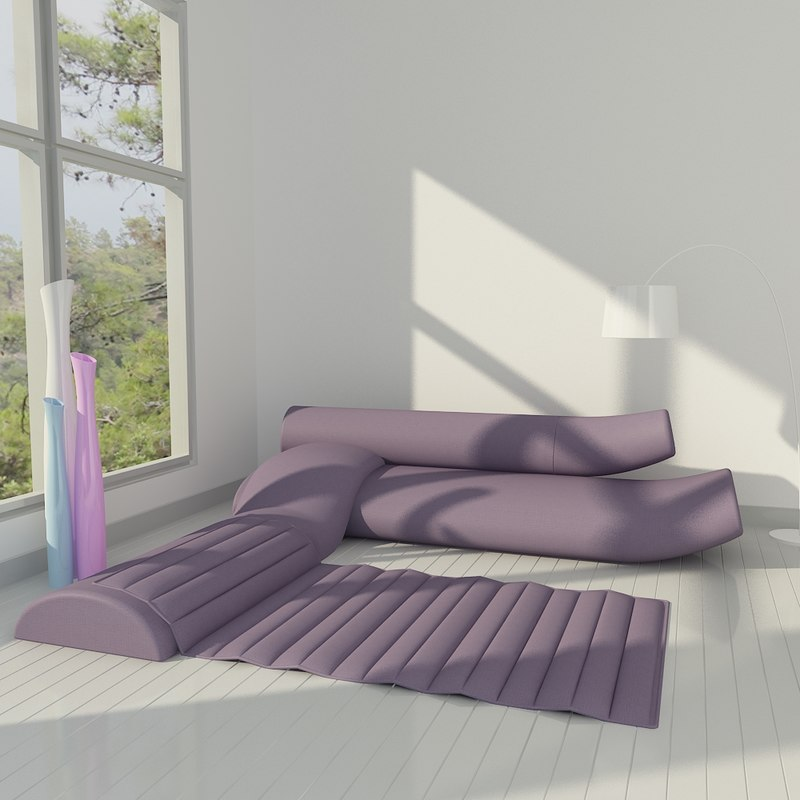 Sofa Wohnzimmer Szene Cor Lava 3d Modell Turbosquid 555870