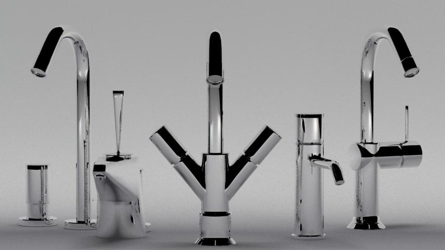 Sink Tap Modell : Sink tap d model