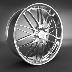 wheel rim alloy 3d model