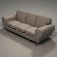 3 seater sofa 3d model