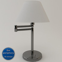 extensible table lamp 3d model