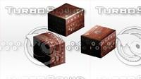box prop blender 3d model
