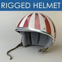 Rigged Helmet moto