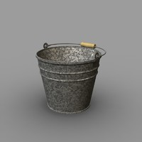Bucket Galvanised