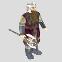 Fantasy Dwarf Unit