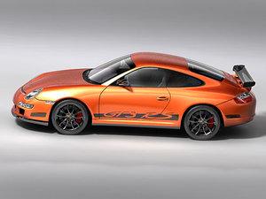 porsche 911 997 gt3 3d model