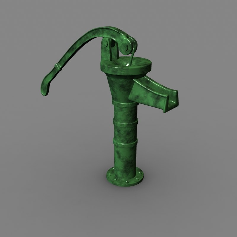 how to use an old hand water pump