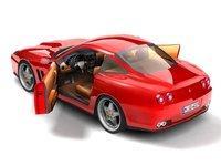 ferrari f575 maranello sport coupe 3ds