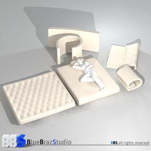 free 3ds model mattresses mat
