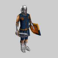 Medieval middle Infantry