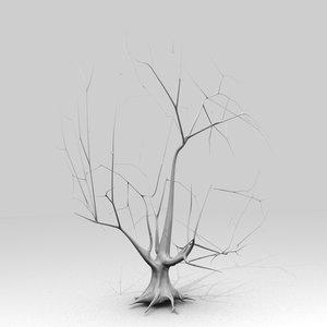 free obj model tree maple