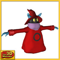orko character he-man 3d model