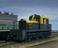 3ds max switcher locomotive