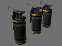 Flash Bang Grenade - Complete -