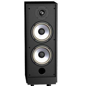 fidelity three-way loudspeaker 3d model