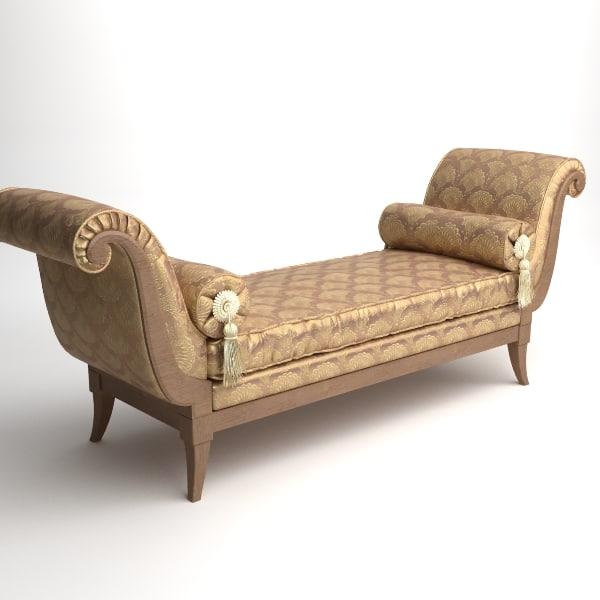 maya bench interior