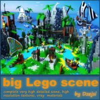 Big lego scene