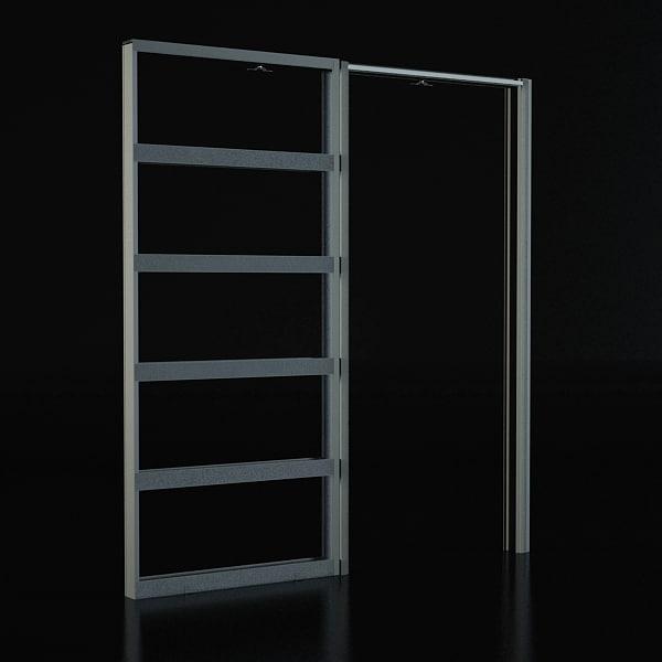 3d model sliding door