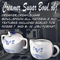 CreamerSugarBowl.obj