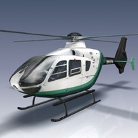 eurocopter ec135 3d max