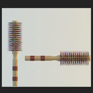 3d hair eyebrow tweezer model