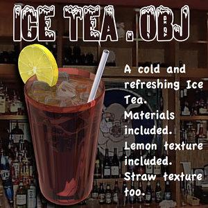 icetea ice tea obj