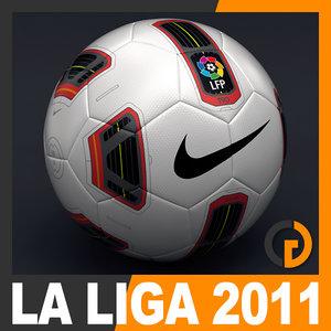 2010 2011 la liga 3d model