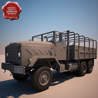 M923 A1 Cargo Truck V8