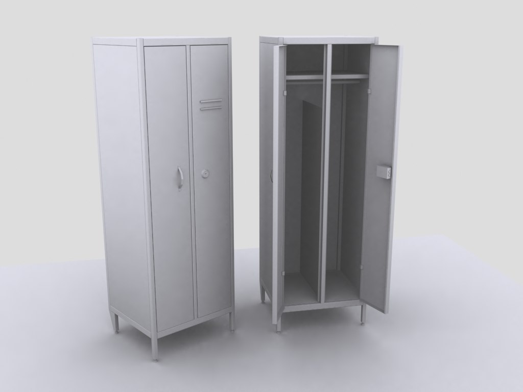 Metal Closets For Keeping Clothes (1)