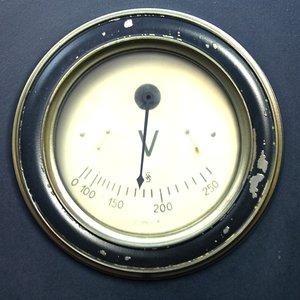 meter gauge 3d model
