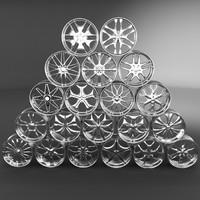 20 Wheel Rims 021-040