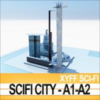 xyff a1 a2 city 3d 3ds