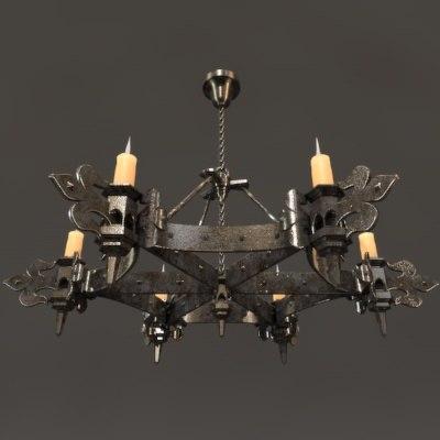 maya gothic chandelier