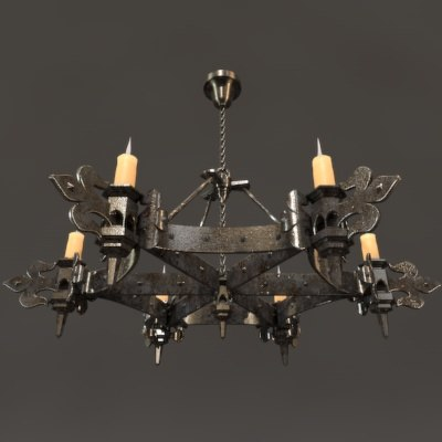 Maya gothic chandelier aloadofball Images