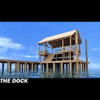 dock and Island hut