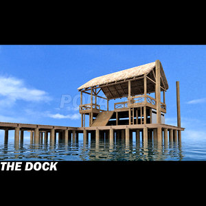 dock island hut 3ds