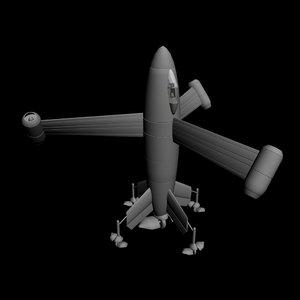 world war 3d model