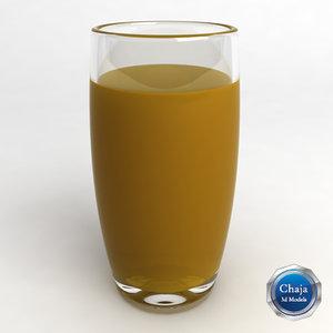 glass orange 3d 3ds