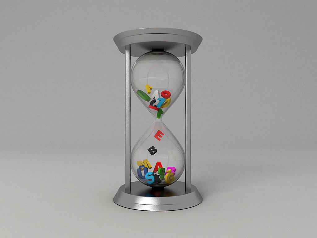 hourglass clock max