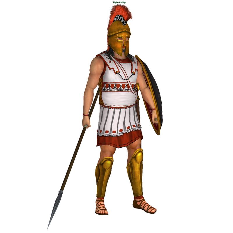 Greek Hoplite  sc 1 st  TurboSquid & 3d games animations rigged