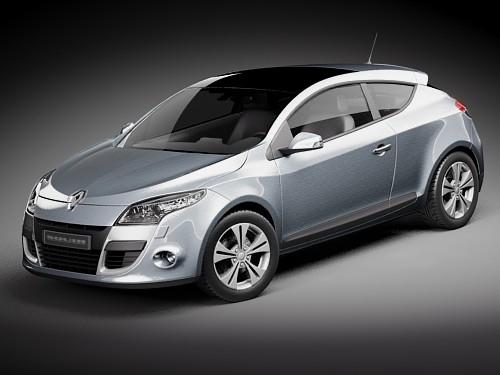 max renault megane coupe 2010