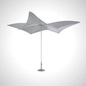 3d tuuci umbrellas modern