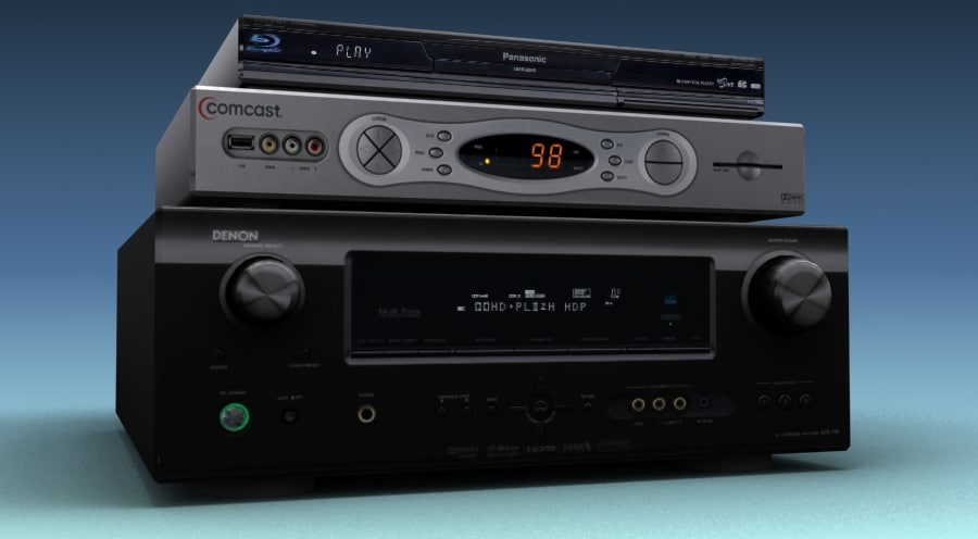 media components 3d max