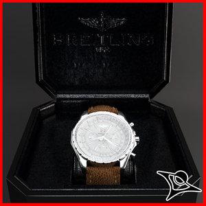 box watch 3d model