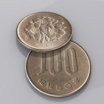 3ds max japanese yen