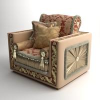 maya armchair bacci stile 450