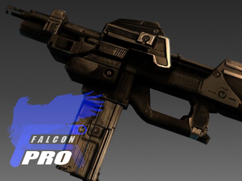 machinegun 2022 3d model
