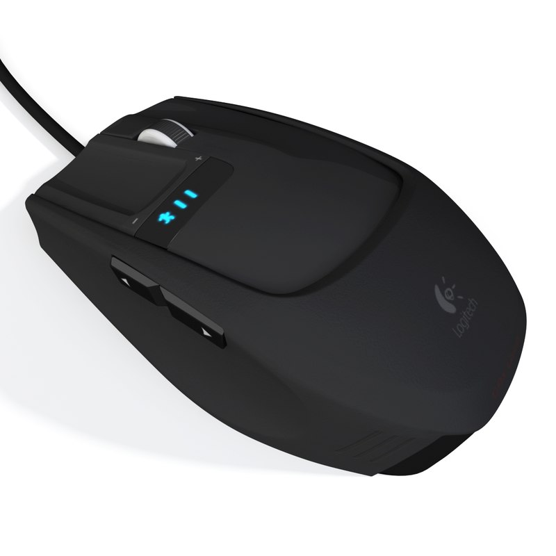 mouse modeled 3d model