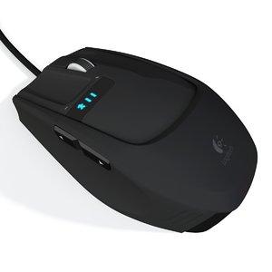 mouse modeled 3d model